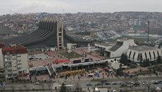 Столица Косово  - Приштина. Архивное фото