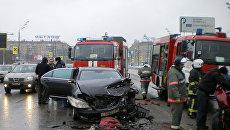 Столичные милиционеры доказали невиновность водителя Мерседеса вице–президента Лукойла в скандальной аварии на Ленинском проспект