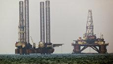 Нефтяные платформы. Архив