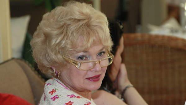 Сенатор Людмила Нарусова. Архив