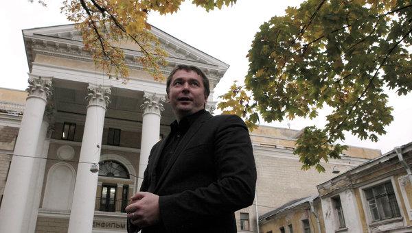 Пресс-конференция нового директора Ленфильма Э.Пичугина