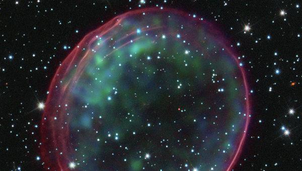 Нобелевская сверхновая SNR 0509-67.5 могла вспыхнуть в результате слияния красного и белого карлика