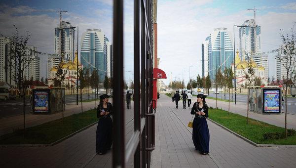 Города России. Грозный. Архивное фото