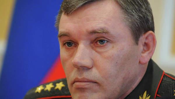 Начальник Генштаба генерал армии Валерий Герасимов. Архив