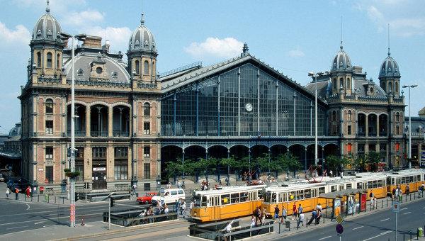 Будапештский вокзал Ньюгати. Архивное фото