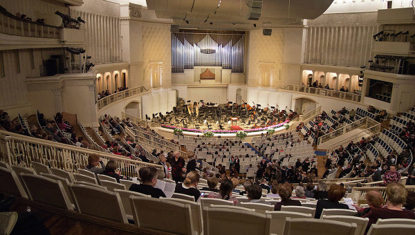 Концертный зал имени П.И.Чайковского. Архивное фото