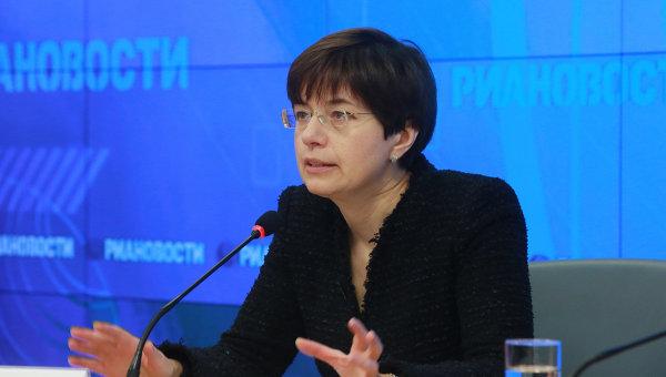 Начальник Экспертного управления президента РФ Ксения Юдаева . Архивное фото