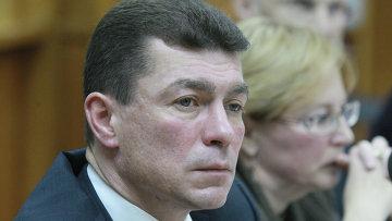 Министр труда и социальной защиты РФ Максим Топилин, архивное фото