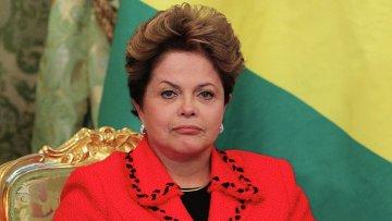 Президент Бразилии Дилма Руссефф, архивное фото