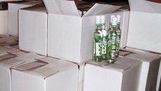 Нелегальный алкоголь. Архивное фото