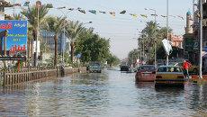 Наводнение в Багдаде. Ирак