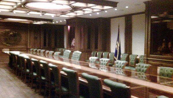Лекторий штаб-квартиры РГО в Москве. Архивное фото
