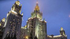 Главное здание Московского государственного университета. Архивное фото