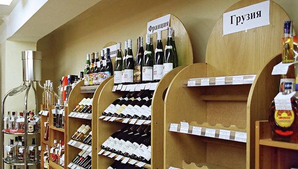 Запрет на продажу в России грузинских вин