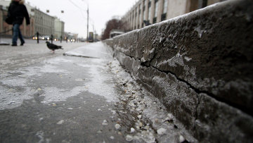Тротуар. Архивное фото
