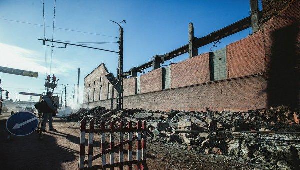 Последствия падения метеорита в Челябинске, ОАО Челябинский цинковый завод
