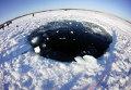 Поиски следов метеорита в озере Чебаркуль