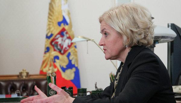 Ольга Голодец . Архив