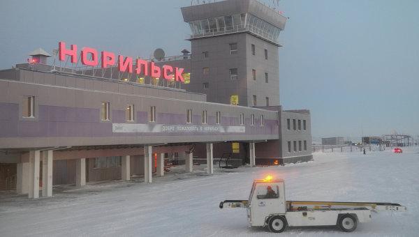 Здание аэропорта Норильск. Архивное фото