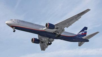 Самолет авиакомпании Аэрофлот-Российские авиалинии. Архивное фото