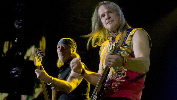 Концерт рок-группы Deep Purple прошел в Москве