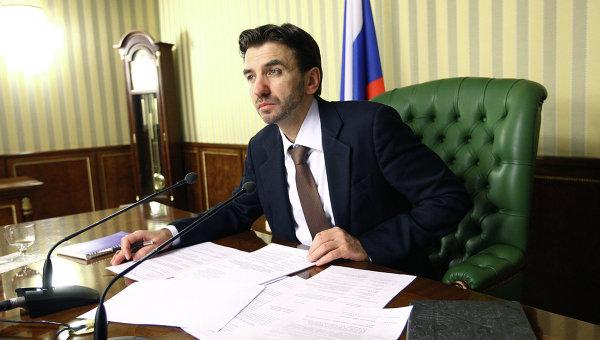 Министр РФ по связям с открытым правительством Михаил Абызов