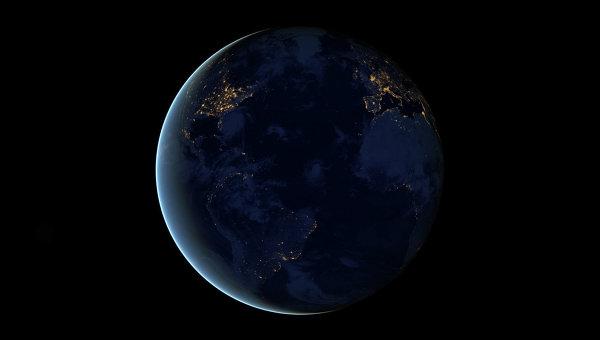 Ночные огни Земли, архивное фото