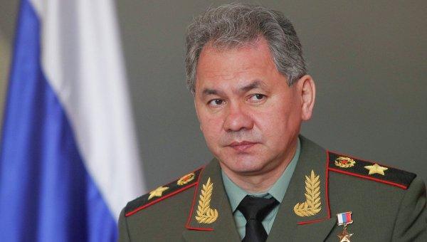 Министр обороны РФ Сергей Шойгу. Архив