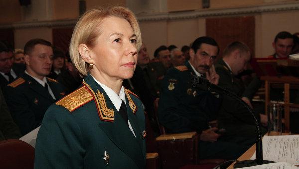 Генерал-майор Елена Князева