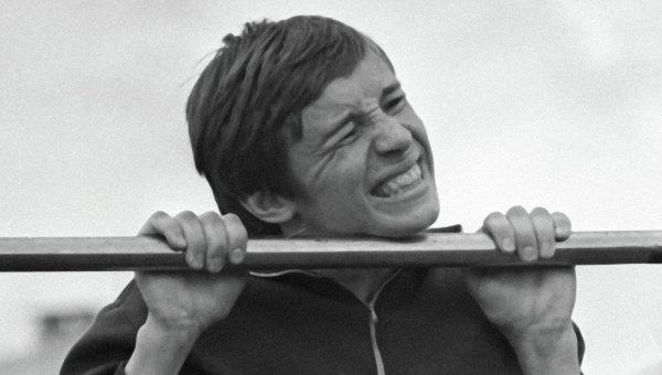 Сдача норм ГТО, архивное фото
