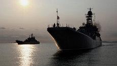 Большие десантные корабли ВМФ РФ