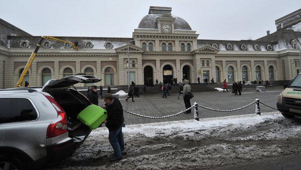 Павелецкий вокзал. Архивное фото