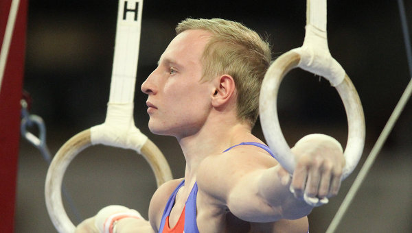 Российский гимнаст Александр Баландин