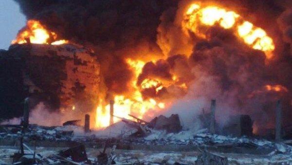 Взрыв произошел на строящемся нефтеперерабатывающем заводе в Забайкалье