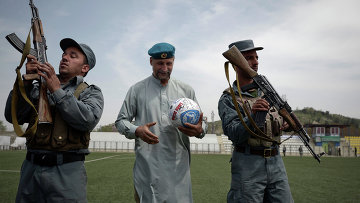 Футбольный матч серии Шурави против моджахедов в Кабуле
