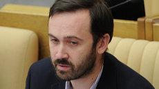 Депутат Илья Пономарев, архивное фото