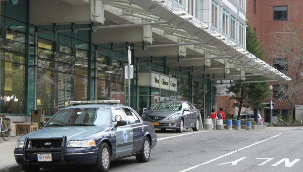 Полиция охраняет госпиталь в Бостоне, где находится Джохар Царнаев