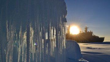 Экспедиция Арктика-2012 на атомном ледоколе Россия