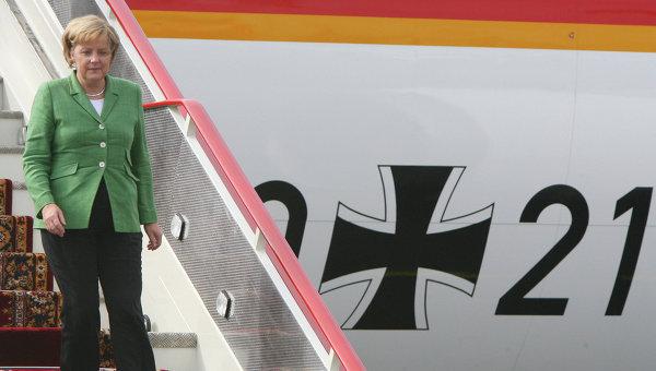 Федеральный канцлер ФРГ Ангела Меркель. Архив