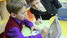 Школьный урок, фото из архива