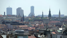 Прага. Чехия. Архивное фото