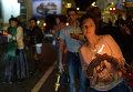 """Благодатный огонь из Иерусалима встречают в аэропорту """"Внуково"""""""