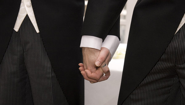 Однополый брак. Архивное фото