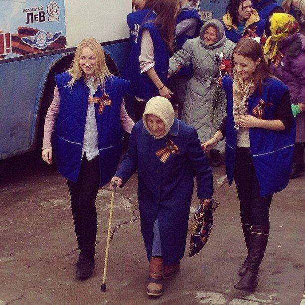 На праздновании Дня победы в Южносахалинске