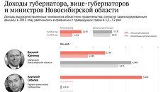 Доходы губернатора и министров Новосибирской области