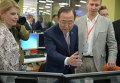 Генеральный секретарь ООН Пан Ги Мун посетил РИА Новости