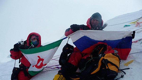 Лейла Албогачиева, первая в истории Ингушетии женщина-альпинист, второй раз покорила Эверест