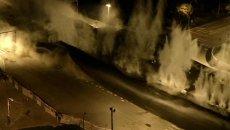 Серия взрывов уничтожила гигантский путепровод в Китае