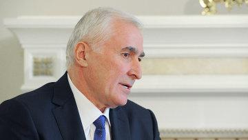 Главой Южной Осетии Леонид Тибилов. Архивное фото