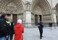 Писатель застрелился в соборе Нотр-Дам-де-Пари